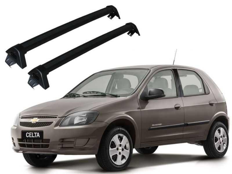 Rack para Corsa Celta (todos) Prisma Até 2012 4p - Preto Projecar C-334