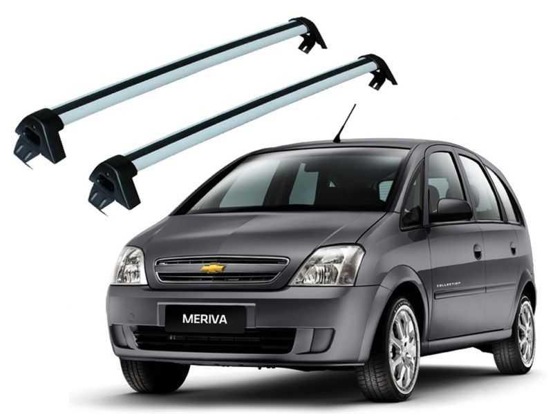 Rack para Chevrolet Meriva (todos) - Prata Projecar C-345