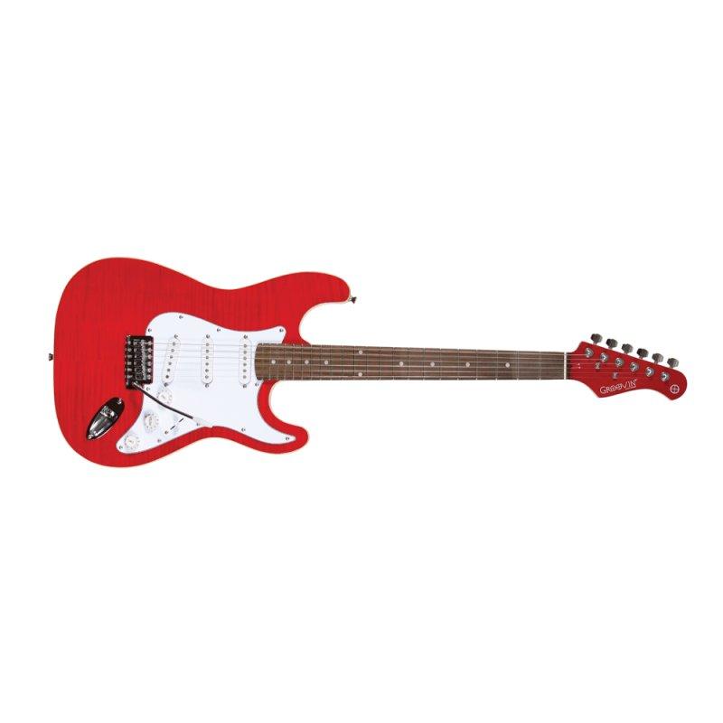 Guitarra Groovin Gst320stmrd Vermelha