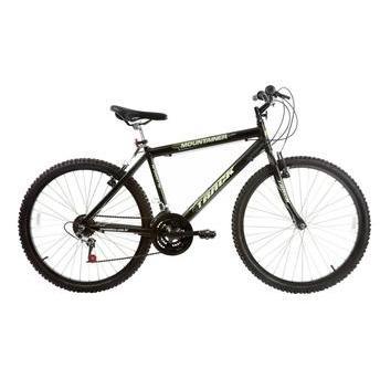 Bicicleta Track&bikes Mountainer Aro 26 Rígida 18 Marchas - Preto