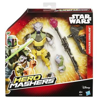 Bonecos Star Wars Episódio Vii 9 Cm Garazeb Orrelios e C1-10p Chopper Hasbro