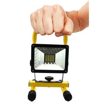 Holofote Refletor Wmt Portátil Recarregável Função Strobo 30w - Wmtds2724