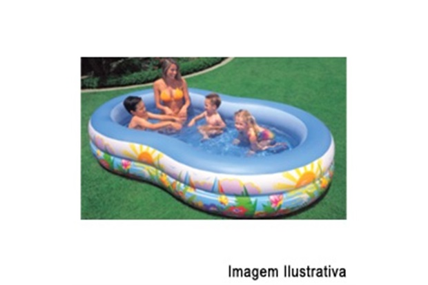 Piscina Circular Intex Lagoa do Paraíso 466l