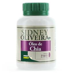 Sidney Oliveira Óleo de Chia 30 Cápsulas