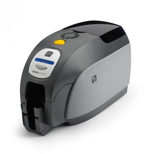 Impressora Térmica Crachá e Cartões Zebra Dupla Face Grafite Zxp 3 Transferência Térmica Colorida Usb Bivolt