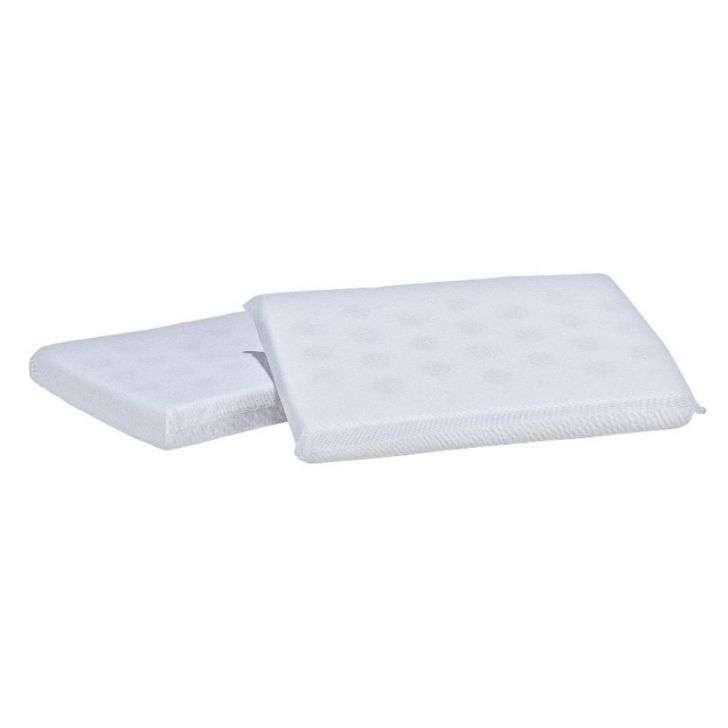 Travesseiro Bebe Antissufocante 100% Algodão 18x28cm