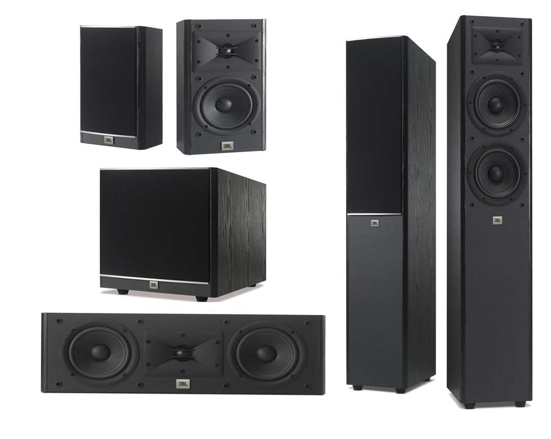 Caixas P/ Home Theater 5.1 Arena 900 Watts Jbl
