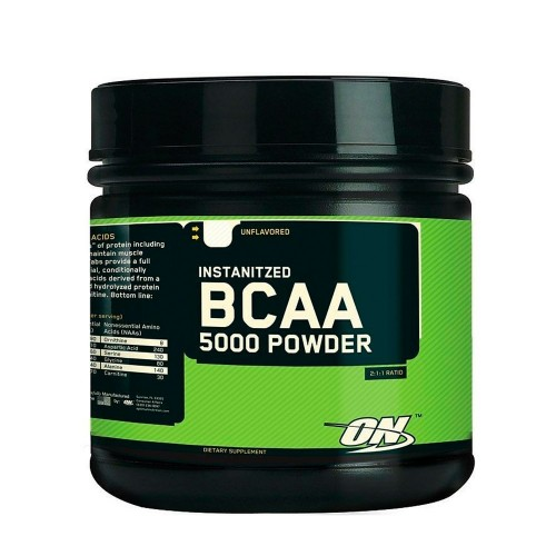 Bcaa 5000 Powder 345g Laranja Optimum Nutrition