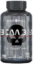 Bcaa 3:1:1 - 240 Tabletes Black Skull