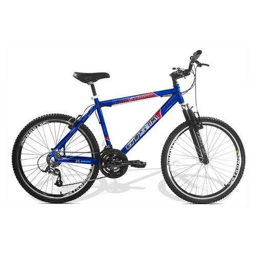 Bicicleta Gts M1 Stilom Vb T19 Aro 26 Susp. Dianteira 21 Marchas - Azul