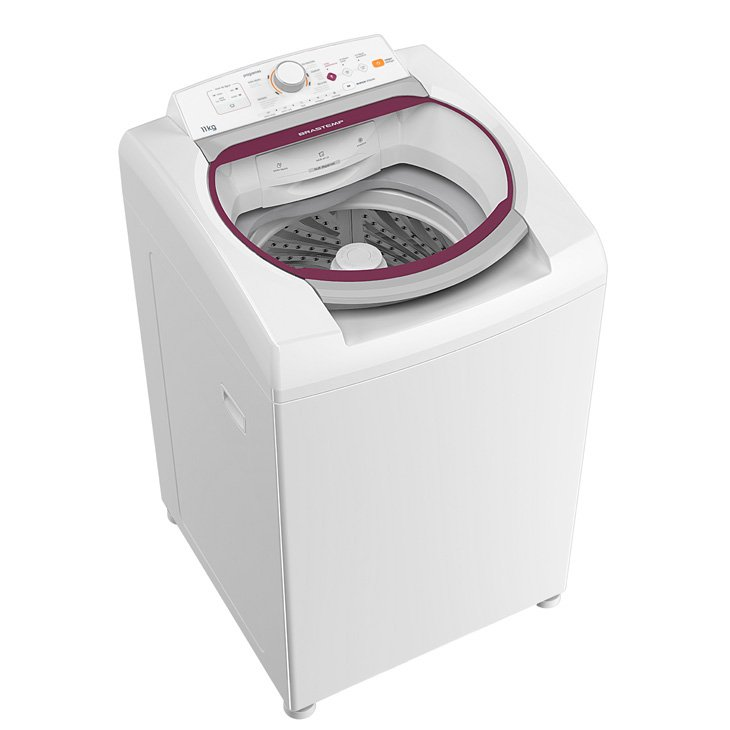 Lavadora de Roupa 11 Kg Branco Top Load Brastemp - 110v - Bwk11abana