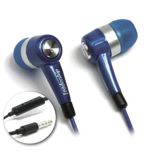 Fone de Ouvido Intra-auricular Com Microfone To-go Azul Leadership 9361