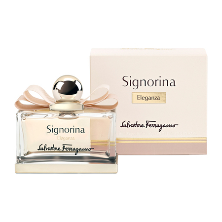 Perfume Signorina Eleganza Salvatore Ferragamo Eau de Parfum Feminino 100 Ml
