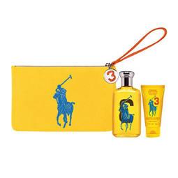 Estojo Polo Big Pony Yellow 3 Ralph Lauren Eau de Toilette Feminino 100 Ml