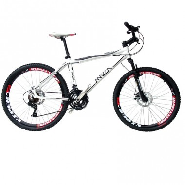 Bicicleta Mazza Fire 112 Disc M T17 Aro 26 Susp. Dianteira 21 Marchas - Amarelo