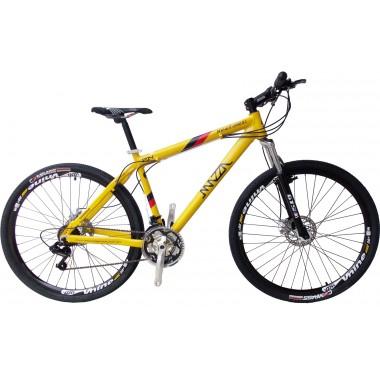Bicicleta Mazza New Times Disc H T17 Aro 29 Susp. Dianteira 24 Marchas - Branco