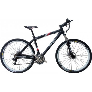 Bicicleta Mazza New Times Disc M T17 Aro 29 Susp. Dianteira 21 Marchas - Cinza