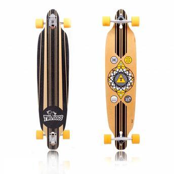 Skate Longboard - Invert D2 Preto Two Dogs