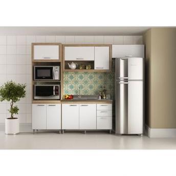 Cozinha Completa Multimóveis Toscana 11 Portas 3 Gavetas 5049