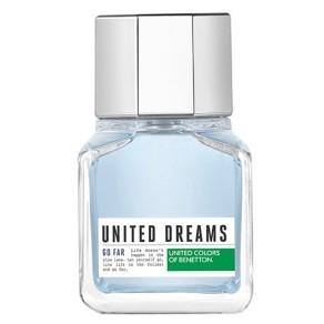 Perfume United Dreams Go Far Benetton Eau de Toilette Masculino 60 Ml