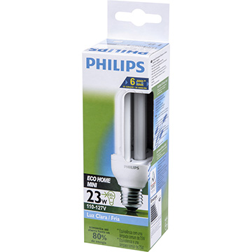 Lâmpada Philips Eco Home Stick 3u 23w 6500k 220v