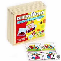 Jogo de Carta da Memória Meus Brinquedos Carlu Brinquedos