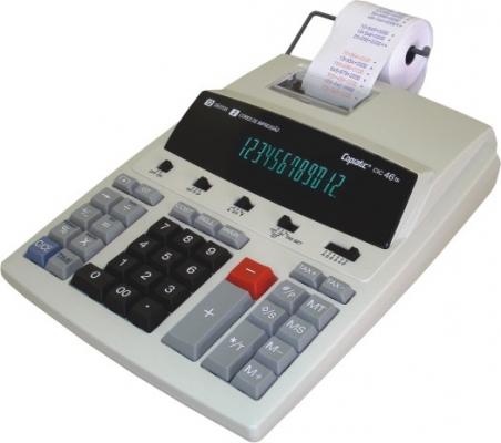 Calculadora de Impressão Copiatic 2,7 Linha/seg 12 Dígitos Bivolt Cic46ts Menno
