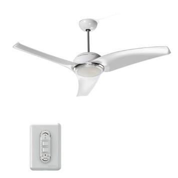 Ventilador de Teto 3 Pás Latina Air Branco 120cm - 110v - Vt655