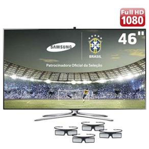 Tv 46'' 3d Led Samsung Full Hd Smart - Un46f7500