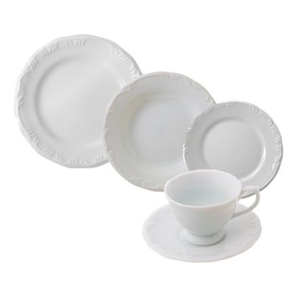 Aparelho de Jantar e Chá Pomerode 30 Peças - Schmidt