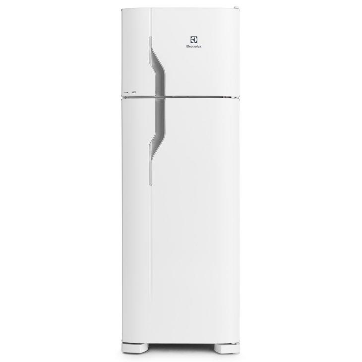 Geladeira/refrigerador 260 Litros 2 Portas Branco - Electrolux - 110v - Dc35a