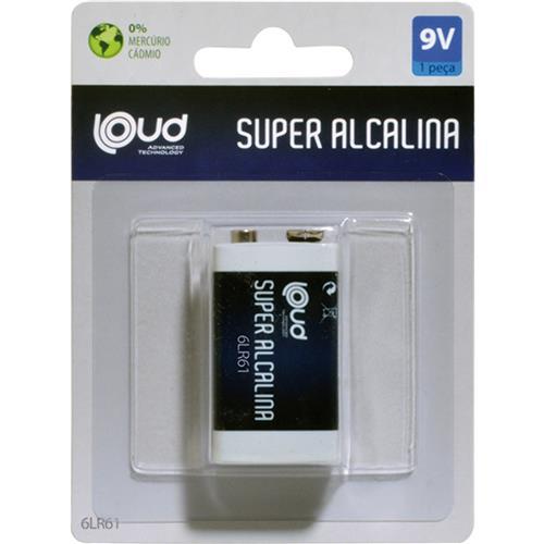 Bateria Super Alcalina 6lf22 9v Ps011c1 Loud