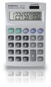 Calculadora de Mesa 10 Dígitos Grandes e Visor Inclinado Pc101 Procalc