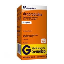 Dropropizina 3mg Xpe Fr 120ml - Dropropizina - Uniao Quimica