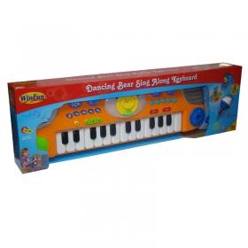 Teclado Musical Urso Dançarino Yes Toys