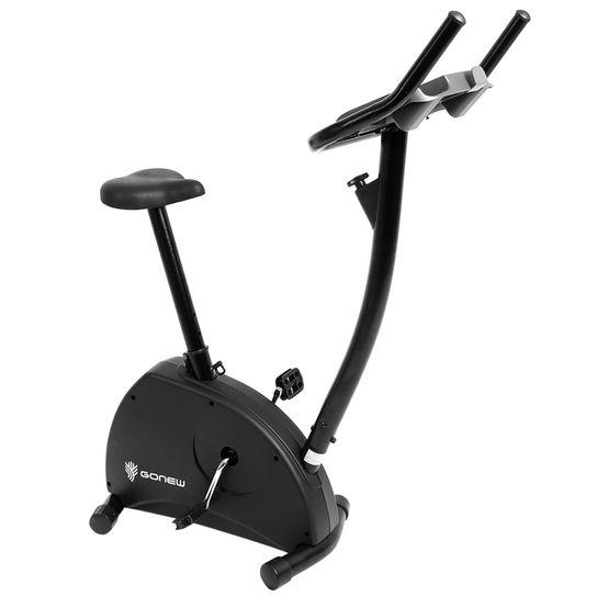 Bicicleta Ergométrica Gonew 200 Training Edition Vertical Magnética Com Display Eletrônico
