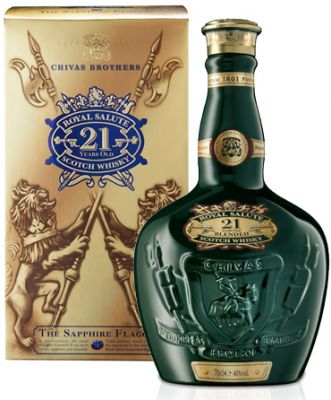 Whisky Chivas Royal Salute Verde 0,700l - 21 Anos