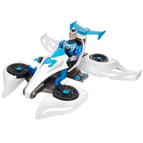 Boneco Max Steel Max Veículo Transformador Mattel