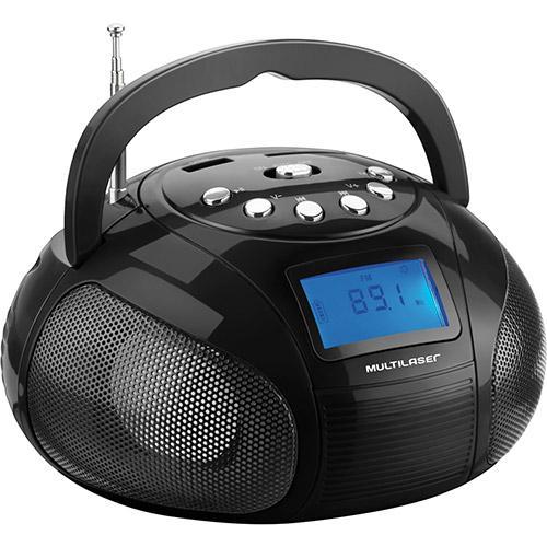 Rádio Portátil Com Usb Multilaser 10 W Rms - Sp145