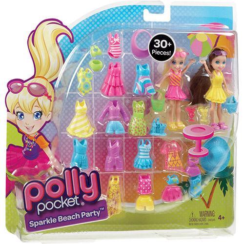 Boneca Polly Pocket Mattel 2 Amigas Fashion
