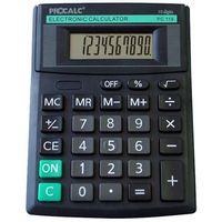 Calculadora de Mesa 10 Dígitos Visor Inclinado Preta Pc119 Procalc
