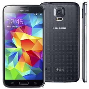 Celular Smartphone Samsung Galaxy S5 Duos G900m 16gb Preto - Dual Chip