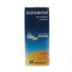 Andriodermol Sol Top Fr 50ml - Hexilresorcinol + Propianato de Sodio + Acido Propionico + Ac - Uniao Quimica