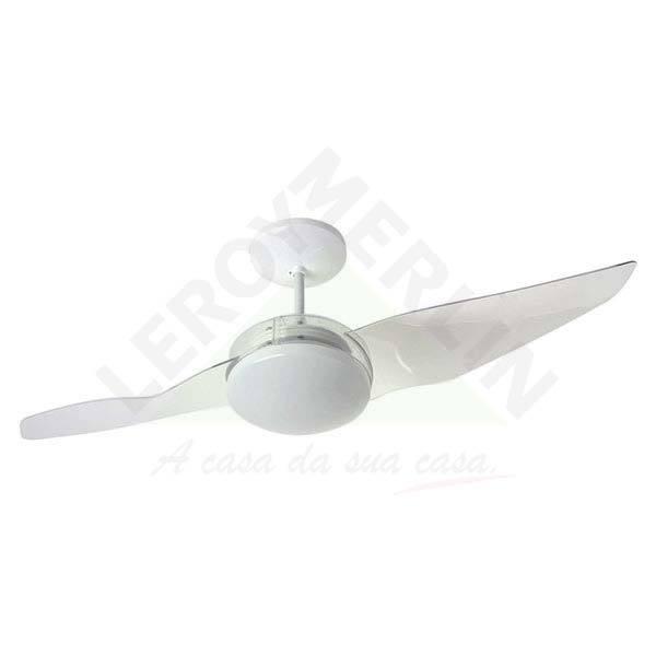 Ventilador de Teto 2 Pás Aliseu Duo Branco Cm - 220v