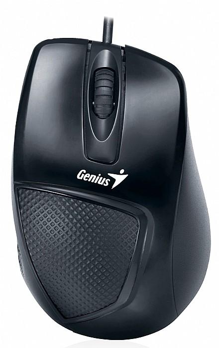 Mouse Usb Óptico Led 1200 Dpis Dx-150 Preto 31010010100 Genius