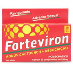 Forteviron Cx 60 Comp - Composto Homeopatico - Homeopatia Waldemiro