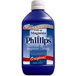 Leite Magnesia Phillips Liq Fr 350ml Sb Tradic - Hidroxido de Magnesio - Glaxosmithkline - Di