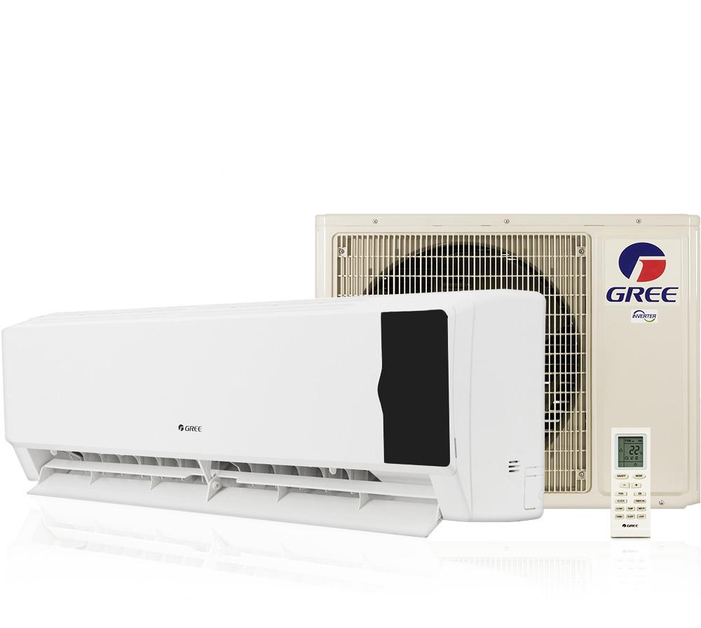 Ar Condicionado Split 24000 Btu Quente/frio Cozy - Inverter - Gree - 220v - Gwh24md-d3dnc1f