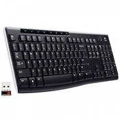 Teclado Wireless K270 920-004427 Logitech