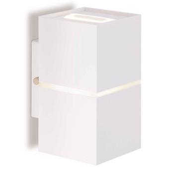 Arandela Abalux Lumidec Branco 9,6cm X 7,6cm X 14,5cm - Ar75-s160